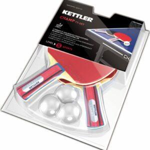 Kettler Champ Bordtennis Sæt (2 bat & 3 bolde)