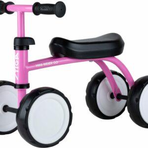 STIGA Mini Rider Go Firehjulet, Lyserød