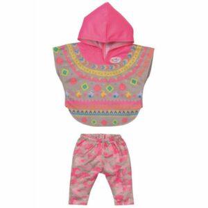 Baby Born Deluxe Dukketøj Trendy Poncho 43 Cm