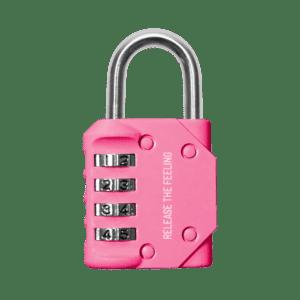 Bodylab Combination Lock – Pink