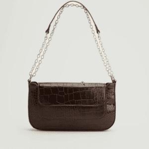 Genanvendt Baguettetaske-taske Med Detalje På Lomme
