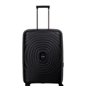 Titan Looping Sort Kuffert – Mellem – 64 cm