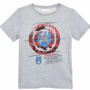 Marvel Avengers T-Shirt, Grey, 8 År
