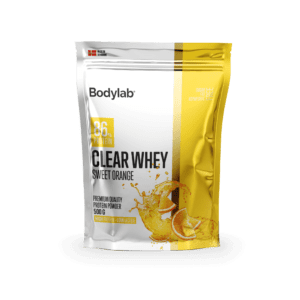 Bodylab Clear Whey (500 g) – Sweet Orange