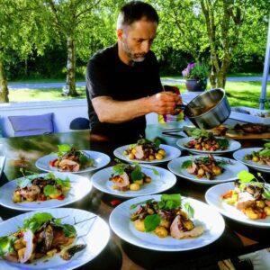 Kokkeskole hos Det Franske Hjørne