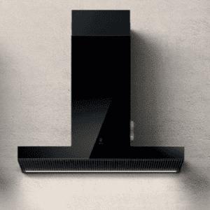 Elica Haiku – Vægemhætte – Udsugning/Recirk. – 710 (920) m³/t – 90 cm