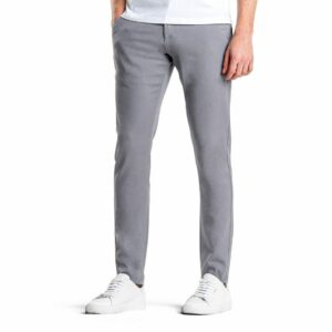 Classic Pants Slim Light Grey