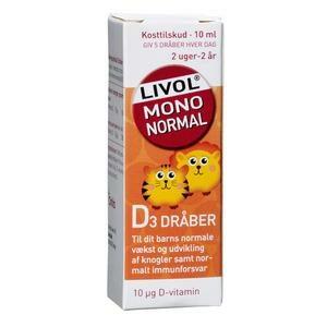 Livol D-dråber – 10ml