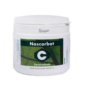 Nascorbat C syreneutral – 500 gram