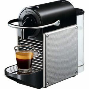 Nespresso Pixie D61al Electric Aluminium Kapselkaffemaskine –