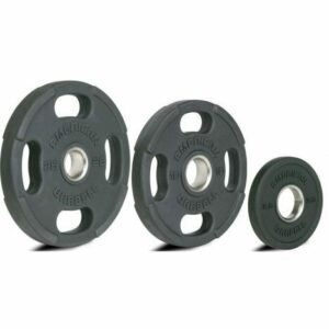 American Barbell Olympic Rubber Plates 10 kg vægtskive