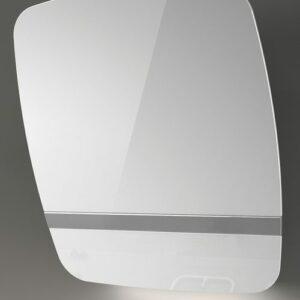 Witt Vision55 White -2 Væghængt Emhætte – Hvid/glas