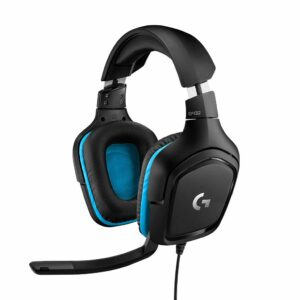 Logitech G432 Surround Sound Wired Gaming Headset