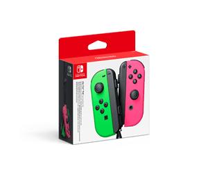Nintendo Joy-Con Controllers (Pair) Neon Green/Neon Pink – Gamepad – Nintendo Switch