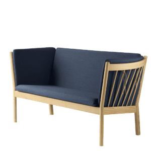 Erik Ole Jørgensen 2 pers. sofa – J148 – Eg/mørkeblå