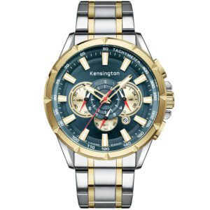 KENSINGTON MASTER LIMITED EDITION STEEL/GOLD/TURQUOISE