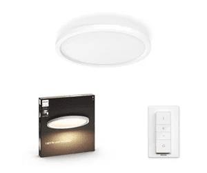 Philips Hue Aurelle Circle Loftlampe – BT – Hvid
