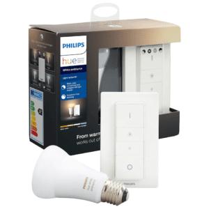 Philips Hue White Ambience trådløst lysdæmpersæt (8.5W E27)