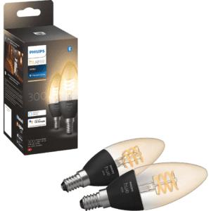 Philips Hue White filament LED light bulb E14 929002479502 (2-pak)